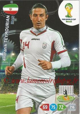 2014 - Panini FIFA World Cup Brazil Adrenalyn XL - N° 204 - Andranik TEYMOURIAN (Iran)