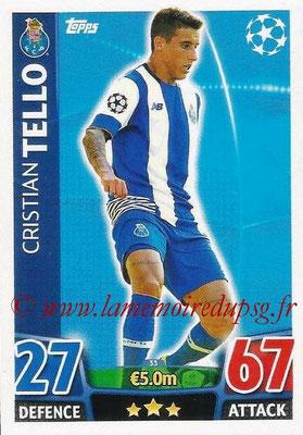 2015-16 - Topps UEFA Champions League Match Attax - N° 033 - Cristian TELLO (FC Porto)