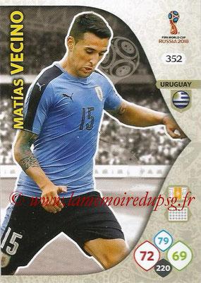 2018 - Panini FIFA World Cup Russia Adrenalyn XL - N° 352 - Matias VECINO (Uruguay)