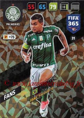 2017-18 - Panini FIFA 365 Cards - N° 031 - DUDU (Palmeiras) (Fans' Favourite)