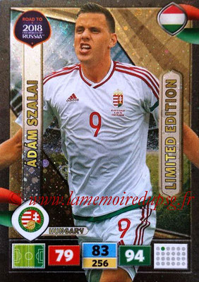 2018 - Panini Road to FIFA World Cup Russia Adrenalyn XL - N° LE-AS - Adam SZALAI (Hongrie) (Limited Edition)