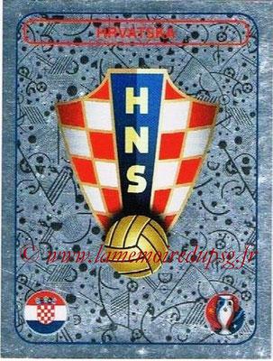 Panini Euro 2016 Stickers - N° 352 - Logo Croatie