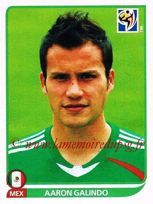 2010 - Panini FIFA World Cup South Africa Stickers - N° 055 - Aaron GALINDO (Méxique)