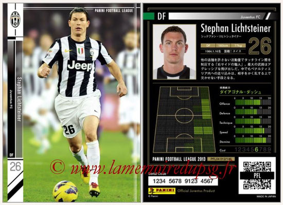 Panini Football League 2013 - PFL04 - N° 012 - Stephan LICHSTEINER (Juventus FC)