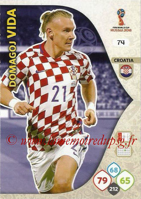 2018 - Panini FIFA World Cup Russia Adrenalyn XL - N° 074 - Domagoj VIDA (Croatie)