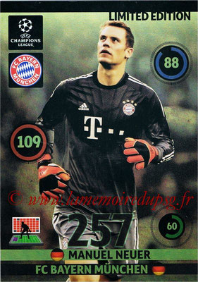 2014-15 - Adrenalyn XL champions League Update edition N° LEU-MN - Manuel NEUER (Bayern Munich) (Limited Edition)