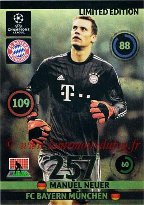 2014-15 - Adrenalyn XL champions League Update edition N° LEU-MN - Manuel NEUER (Bayern Munich) (Limited Edition)