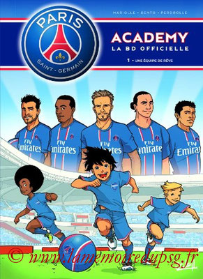 2013-08-21 - PSG Academy, Tome 1 (Soleil, 40 pages)