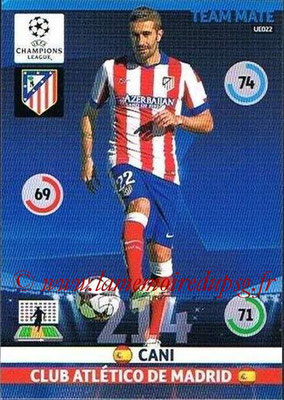 2014-15 - Adrenalyn XL champions League Update edition N° UE022 - CANI (Atletico Madrid)