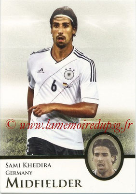 2013 - Futera World Football Unique - N° 044 - Sami KHEDIRA (Allemagne) (Midfielder)