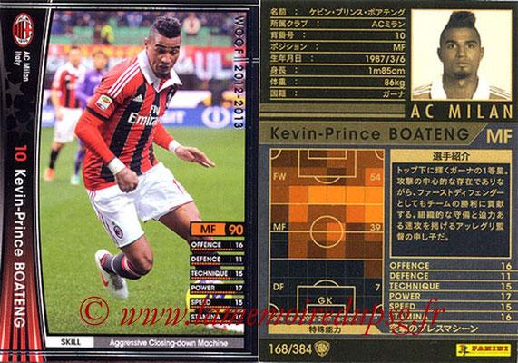 2012-13 - WCCF - N° 168 - Kevin-Prince BOATENG (Milan AC)