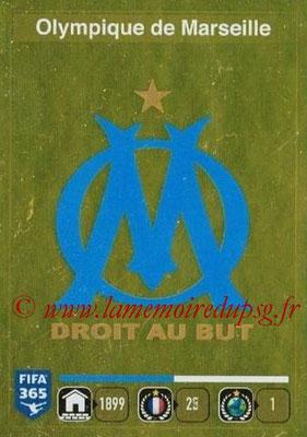 2015-16 - Panini FIFA 365 Stickers - N° 401- Ecusson Olympique de Marseille