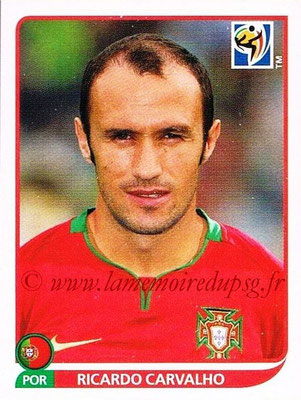 2010 - Panini FIFA World Cup South Africa Stickers - N° 546 - Ricardo CARVALHO (Portugal)