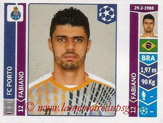 2014-15 - Panini Champions League N° 561 - FABIANO (FC Porto)