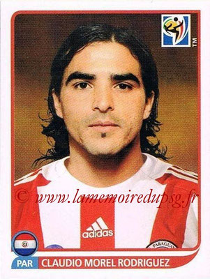 2010 - Panini FIFA World Cup South Africa Stickers - N° 437 - Claudio MOREL RODRIGUEZ (Paraguay)