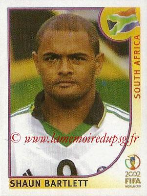 2002 - Panini FIFA World Cup Stickers - N° 167 - Shaun BARTLETT (Afrique du Sud)
