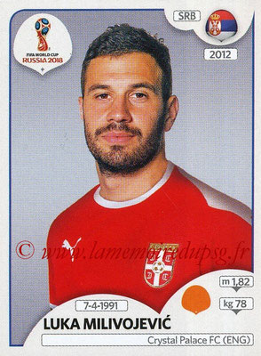2018 - Panini FIFA World Cup Russia Stickers - N° 425 - Luka MILIVOJEVIC (Serbie)