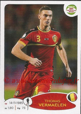2014 - Panini Road to FIFA World Cup Brazil Stickers - N° 258 - Thomas VERLAELEN (Belgique)