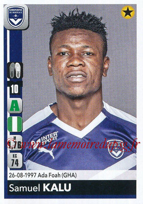 2018-19 - Panini Ligue 1 Stickers - N° 069 - Samuel KALU (Bordeaux)