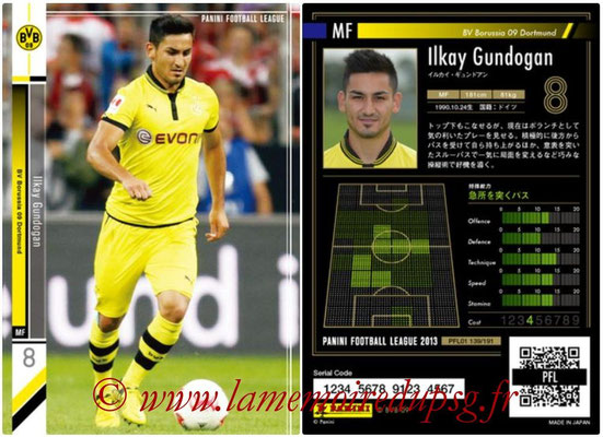 Panini Football League 2013 - PFL01 - N° 139 - Ilkay Gundogan ( BV Borussia 09 Dortmund )