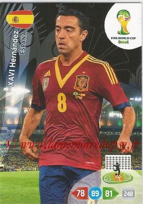 2014 - Panini FIFA World Cup Brazil Adrenalyn XL - N° 153 - Xavi HERNANDEZ (Espagne)