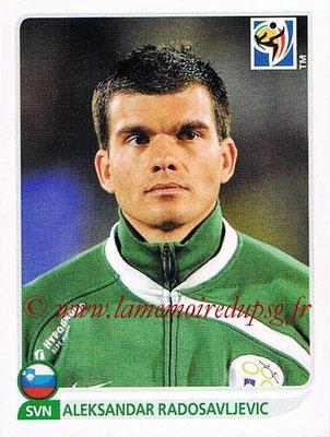2010 - Panini FIFA World Cup South Africa Stickers - N° 249 - Aleksandar RADOSAVLJEVIC (Slovenie)