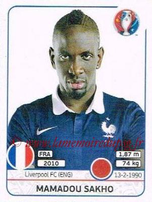 Panini Euro 2016 Stickers - N° 024 - Mamadou SAKHO (France)