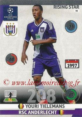 2014-15 - Adrenalyn XL champions League N° 044 - Youri TIELEMANS (RSC Anderlecht) (Rising Star)
