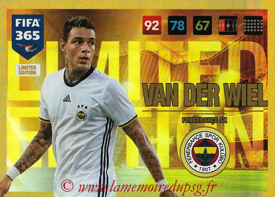 2016-17 - Panini Adrenalyn XL FIFA 365 - N° LE49 - Gregory VAN DER WIEL (Fenerbahçe SK) (Limited Edition)