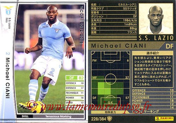 2012-13 - WCCF - N° 228 - Michael CIANI (SS Lazio)