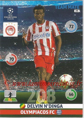 2014-15 - Adrenalyn XL champions League N° 195 - Delvin N'DINGA (Olympiacos FC)