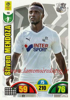 2018-19 - Panini Adrenalyn XL Ligue 1 - N° 010 - Stiven MENDOZA (Amiens)