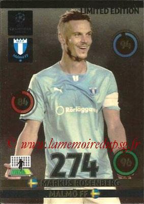 2014-15 - Adrenalyn XL champions League N° LE-MRO- Markus ROSENBERG (Malmo FF) (Limited Edition)