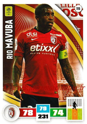 2016-17 - Panini Adrenalyn XL Ligue 1 - N° 115 - Rio MAVUBA (Lille)