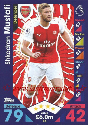 2016-17 - Topps Match Attax Premier League - N° 024