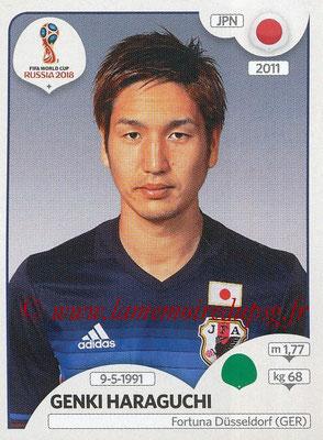 2018 - Panini FIFA World Cup Russia Stickers - N° 668 - Genki HARAGUCHI (Japon)
