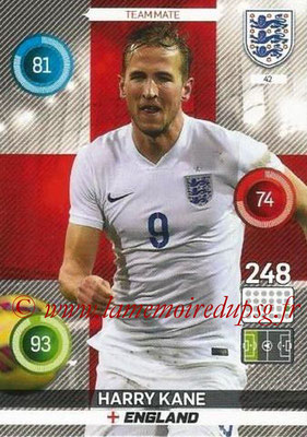 Panini England 2016 Adrenalyn XL - N° 042