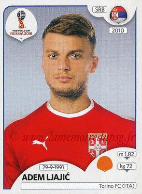 2018 - Panini FIFA World Cup Russia Stickers - N° 426 - Adem LJAJIC (Serbie)