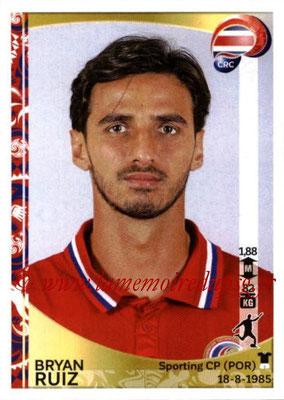 Panini Copa America Centenario USA 2016 Stickers - N° 084 - Bryan RUIZ (Costa Rica)
