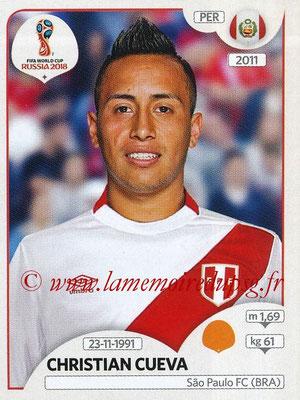 2018 - Panini FIFA World Cup Russia Stickers - N° 242 - Christian CUEVA (Pérou)