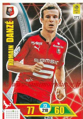 2017-18 - Panini Adrenalyn XL Ligue 1 - N° 272 - Romain DANZE (Rennes)
