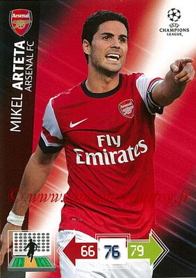 N° 019 - Mikel ARTETA (2000-02, PSG > 2012-13, Arsenal, ANG)