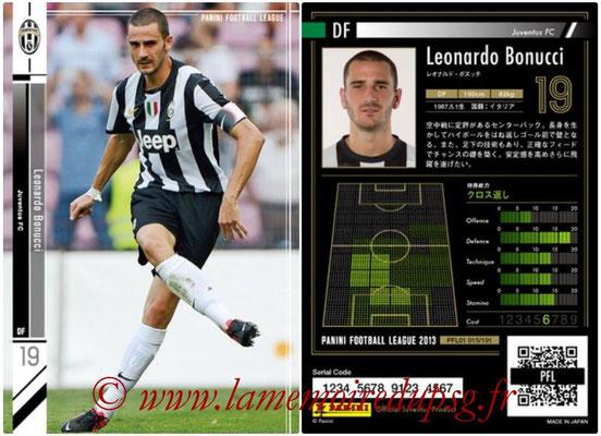 Panini Football League 2013 - PFL01 - N° 015 - Leonardo Bonucci ( Juventus FC )