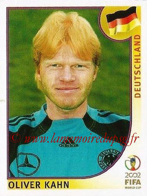 2002 - Panini FIFA World Cup Stickers - N° 315 - Oliver KAHN (Allemagne)