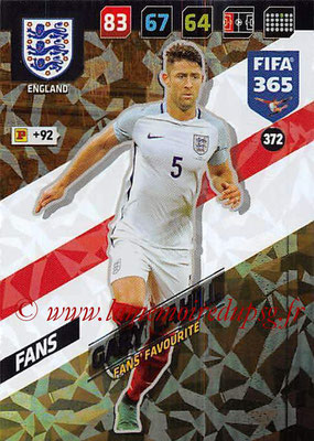 2017-18 - Panini FIFA 365 Cards - N° 372 - Gary CAHILL (Angleterre) (Fans' Favourite)