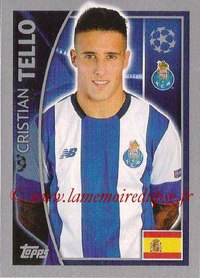 2015-16 - Topps UEFA Champions League Stickers - N° 475 - Cristian TELLO (FC Porto)