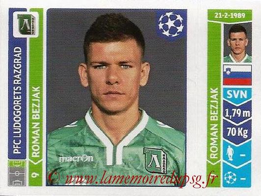 2014-15 - Panini Champions League N° 173 - Roman BEZJAK (Ludogorets Razgrad)