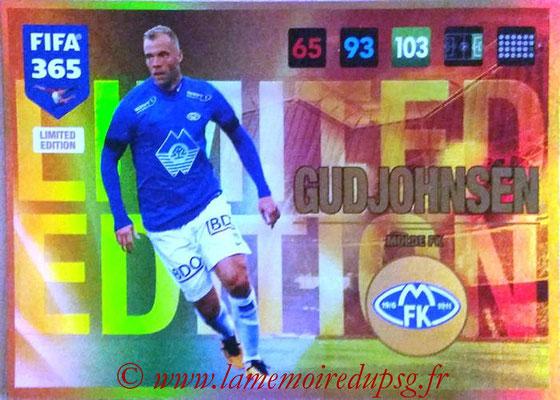 2016-17 - Panini Adrenalyn XL FIFA 365 - N° LE62 - Eidur GUDJOHNSEN (Molde FK) (Limited Edition)