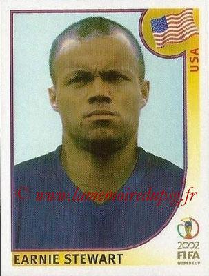2002 - Panini FIFA World Cup Stickers - N° 290 - Earnie STEWART (Etats-Unis)