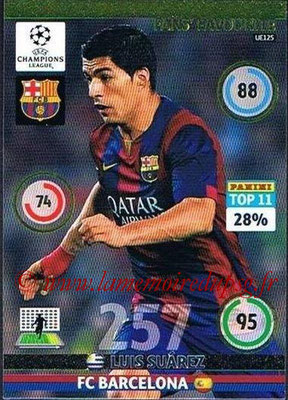 2014-15 - Adrenalyn XL champions League Update edition N° UE125 - Luis SUAREZ (FC Barcelone) (Fans' Favourite)
